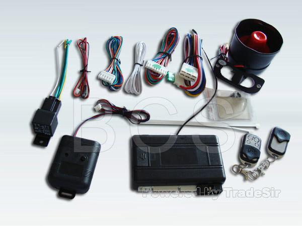 One Way Car Alarm with Key Remote Controller (BCS010)