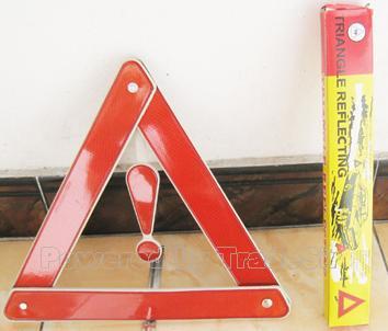 Folded Warning Sign Traffic (SJ111)