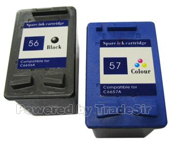 Ink Cartridge for HP6656 and HP6657